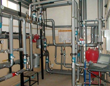 Учёт и управление расходом теплоносителя в системе теплоснабжения здания